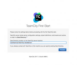 install teamcity on centos 7